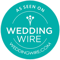 As seen on Wedding Wire